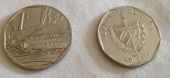 moedas cubanas