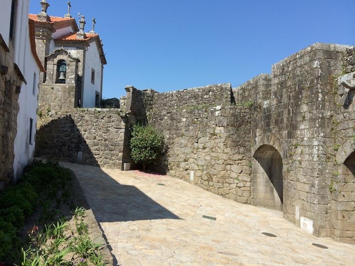 Dentro da muralha, Vila Nova de Cerveira