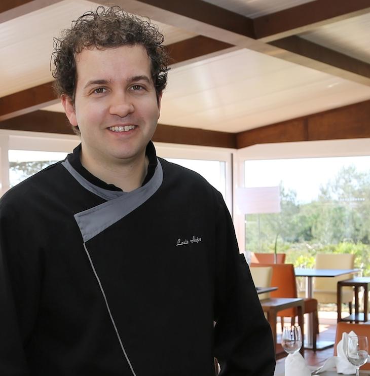 Chef Louis Anjos