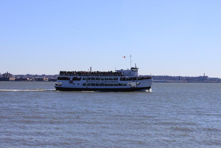Ferry para a Estátua da Liberdade