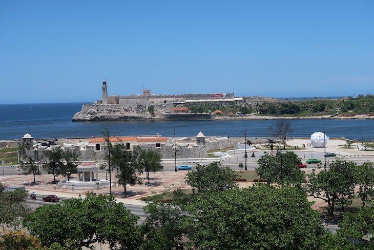 Vista para a Fortaleza de San Carlos de la Cabaña - Havana - Cuba © Viaje Comigo