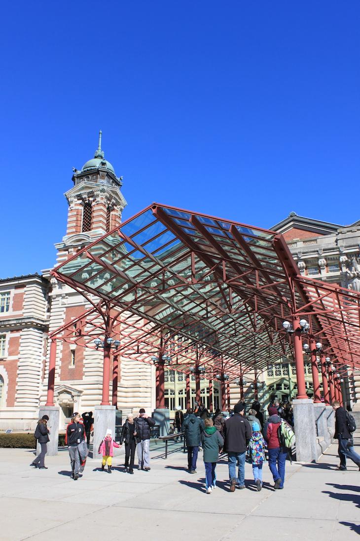 Entrada Ellis Island