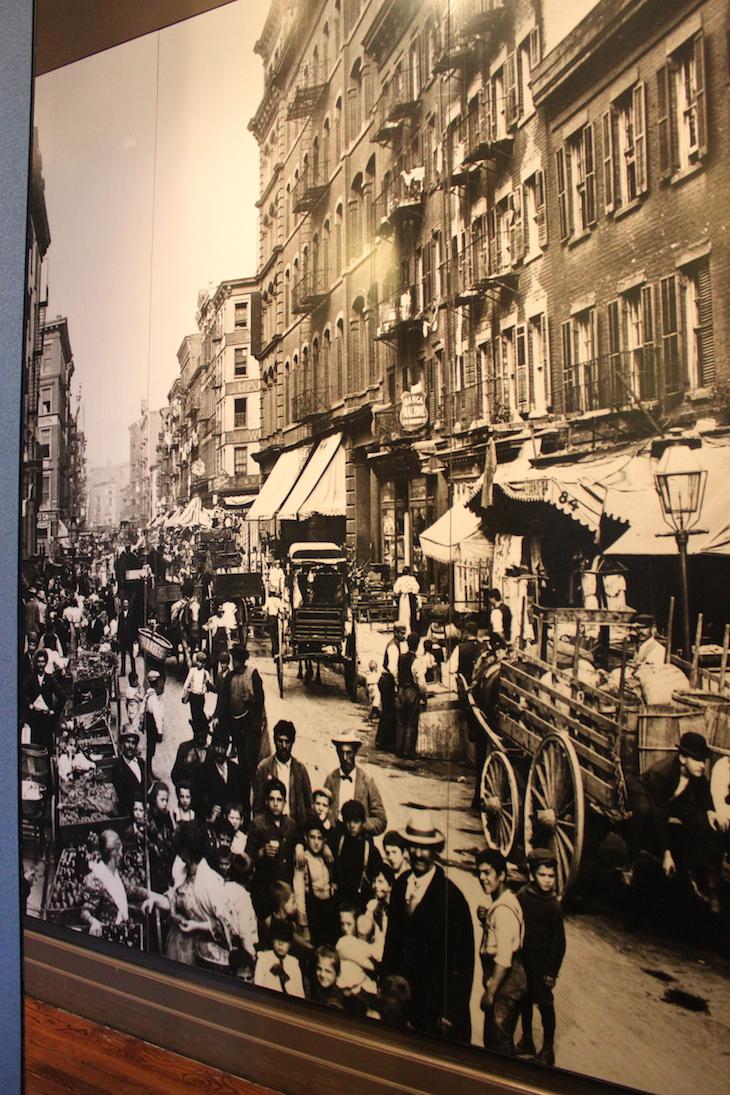 Ruas de Nova Iorque - fotografia Ellis Island
