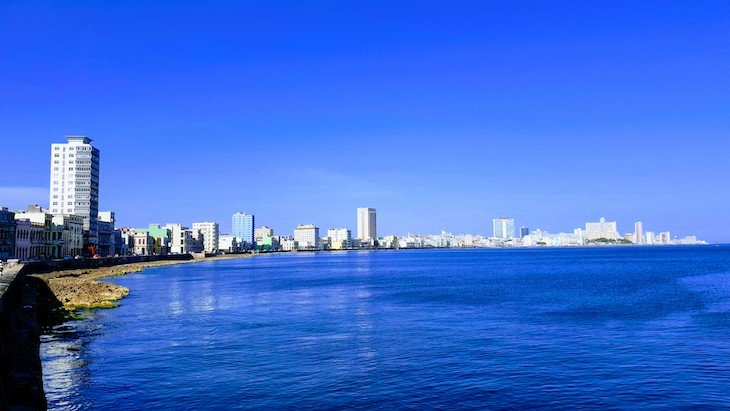 Malecón - Havana - Cuba © Viaje Comigo