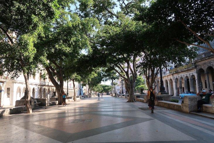 Avenida Prado - Havana - Cuba © Viaje Comigo