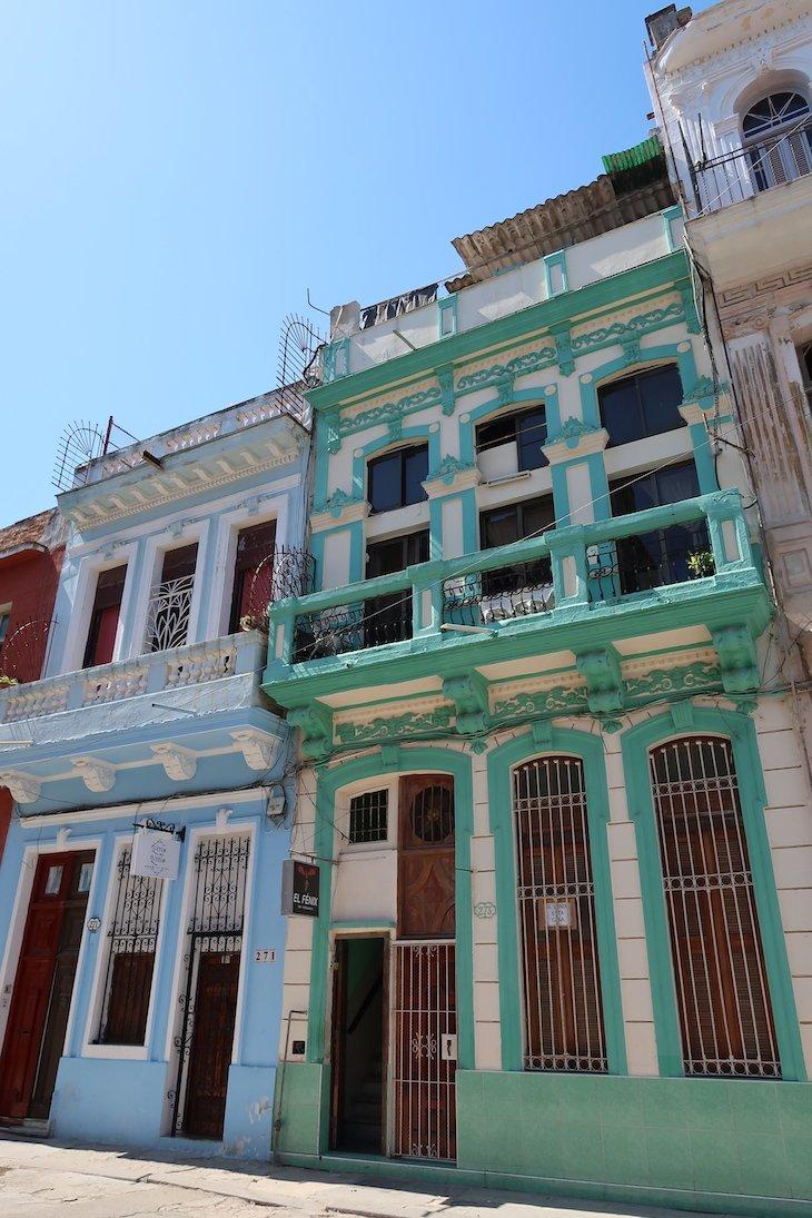 Centro histórico de Havana, com edifícios recuperados - Cuba © Viaje Comigo