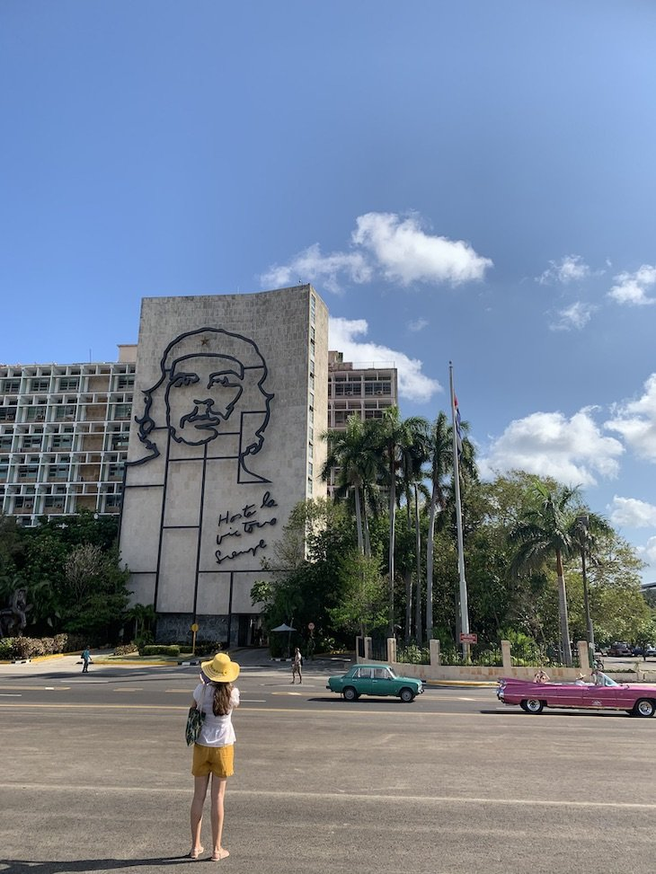 Praça da Revolução - Havana - Cuba © Viaje Comigo
