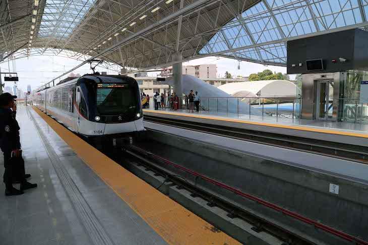 Metro na Cidade do Panamá