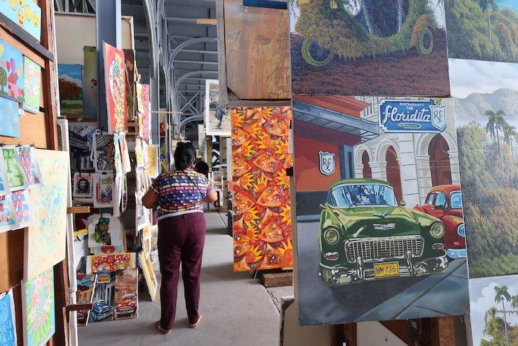 Feira de Artesanato de Havana - Cuba © Viaje Comigo