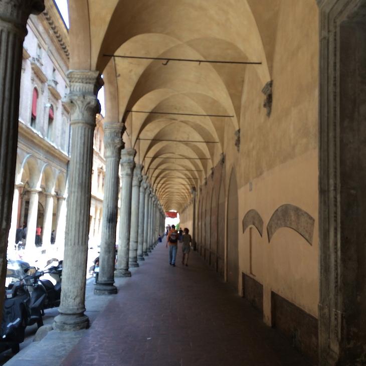 Arcadas em Bolonha