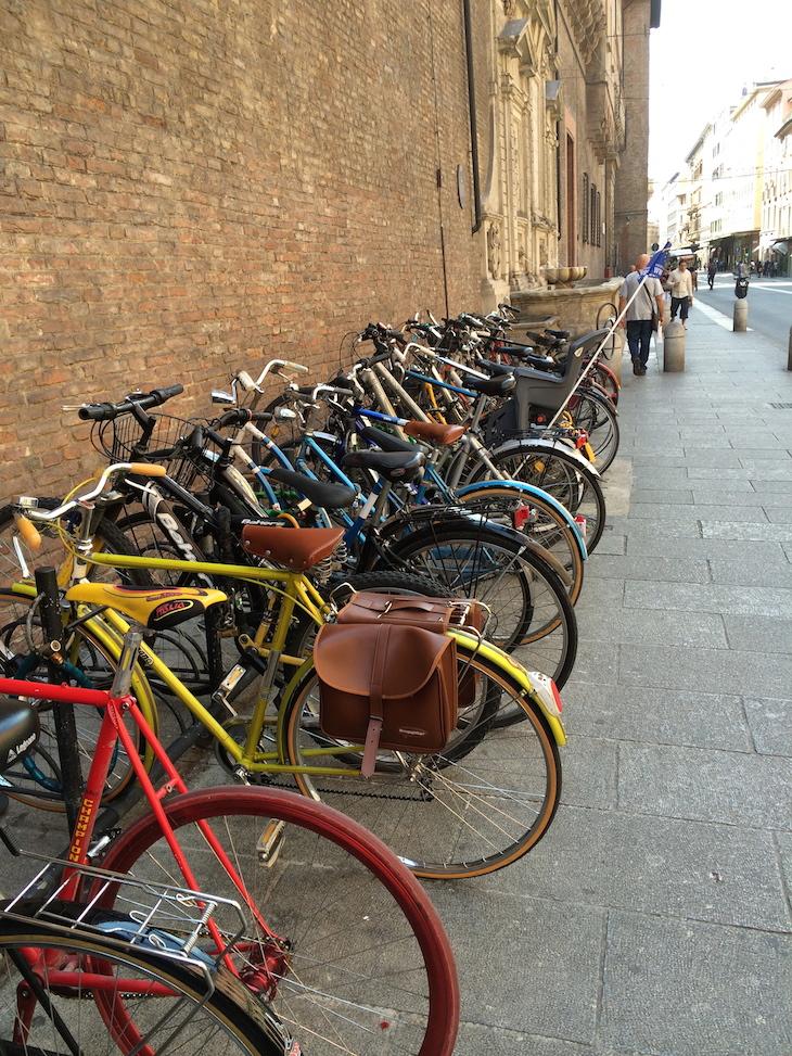 Bicicletas em Bolonha