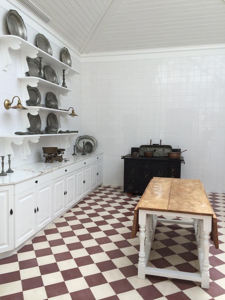 Cozinha antiga da Casa da Ínsua © Viaje Comigo