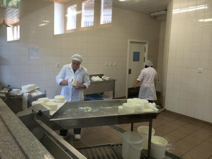 Produção de queijo na Casa da Ínsua © Viaje Comigo