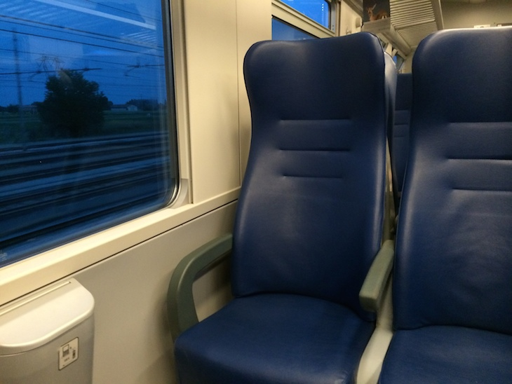 Comboio regional Bolonha - Veneza