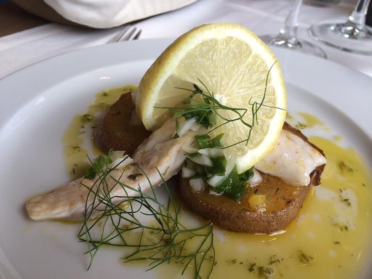 """Restaurante Memorial: prato """"conspiração de peixes"""""""