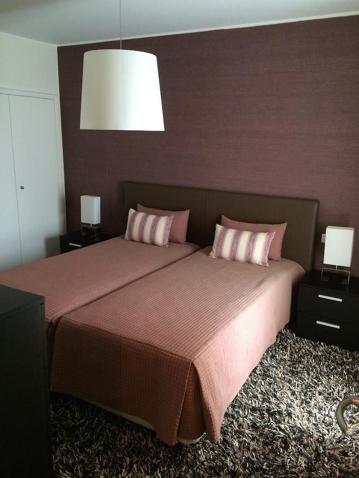 Um dos quartos no Montebelo Aguieira Lake Resort & Spa