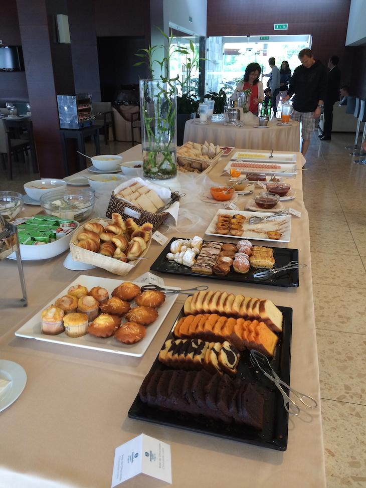 Pequeno-almoço no Montebelo Aguieira Lake Resort & Spa