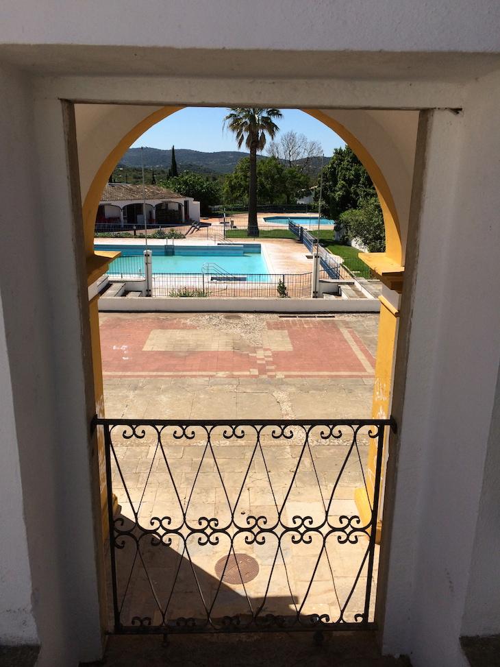 Jardim da Verbena - vista para a piscina