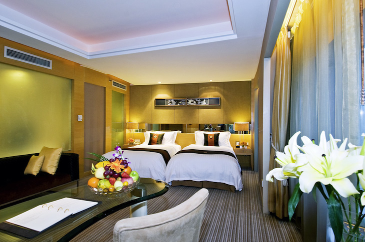Sofitel Legend Xian suite