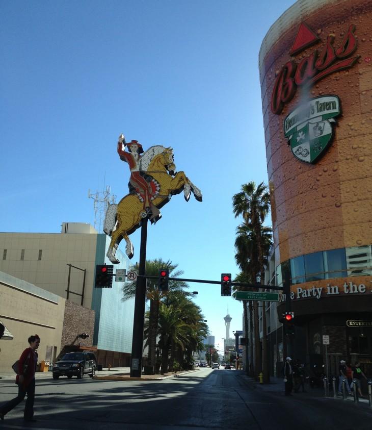Downtown de dia, Las Vegas
