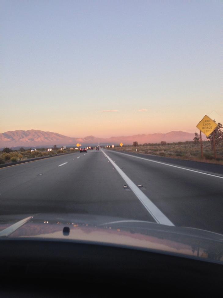 Estrada para Las Vegas