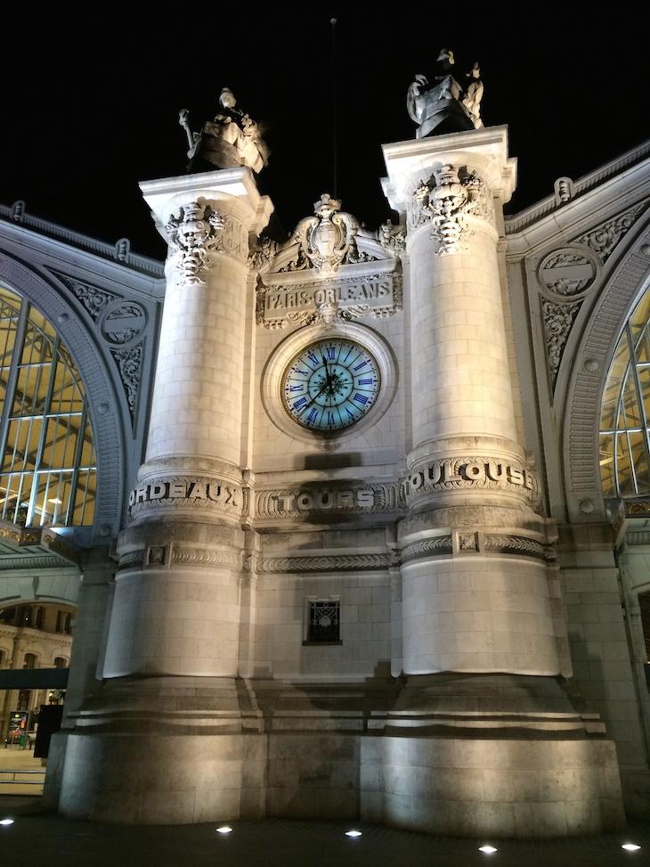 Gare de Tours à noite