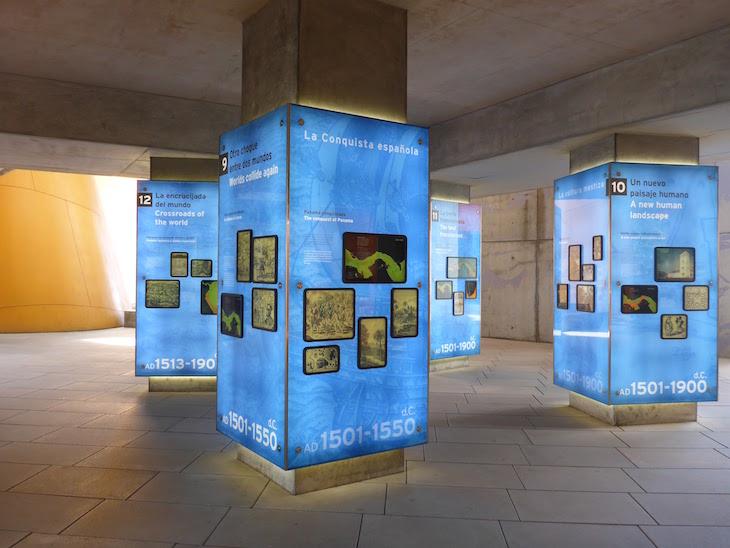 Exposições no Museu da Biodiversidade do Panamá ©Viaje Comigo