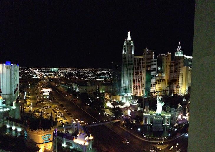 Las Vegas à noite