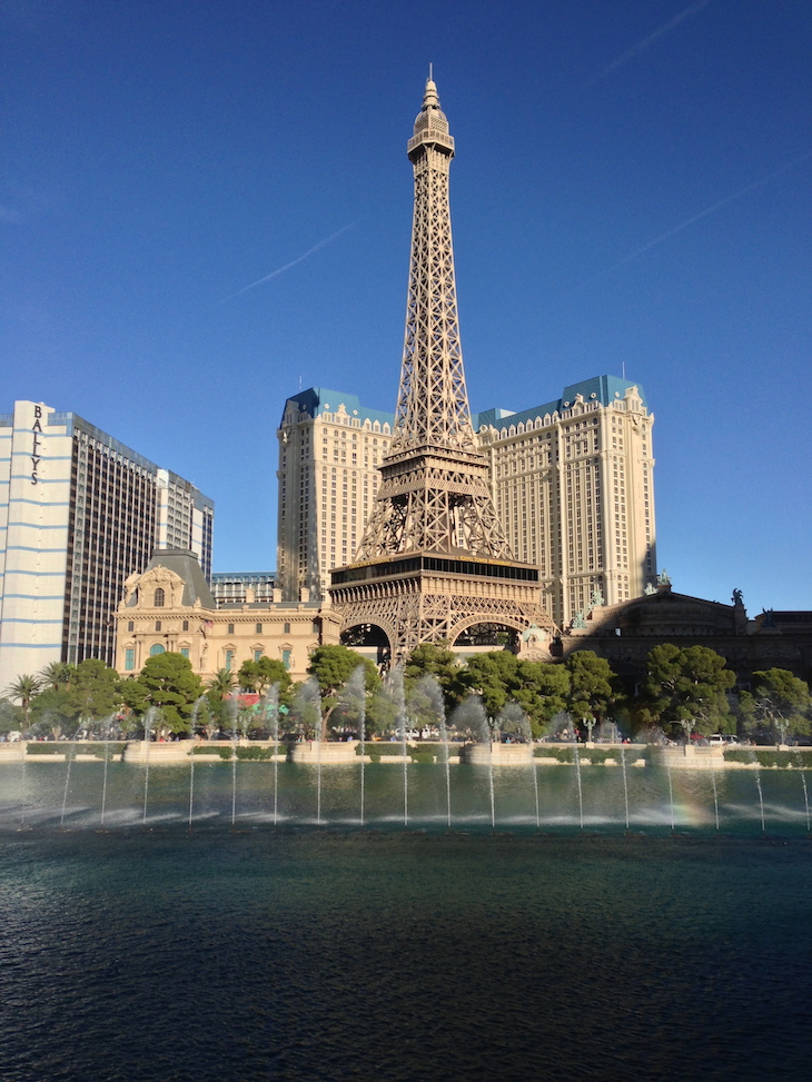 Paris, Las Vegas © Viaje Comigo