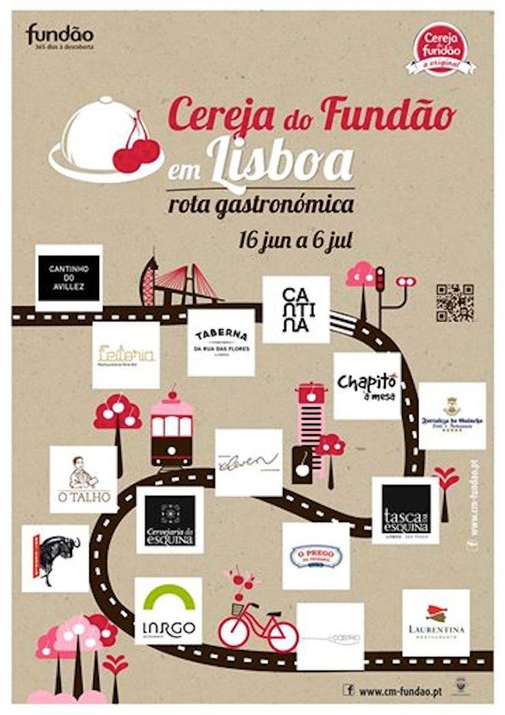 II Rota Gastronómica da Cereja do Fundão em Lisboa
