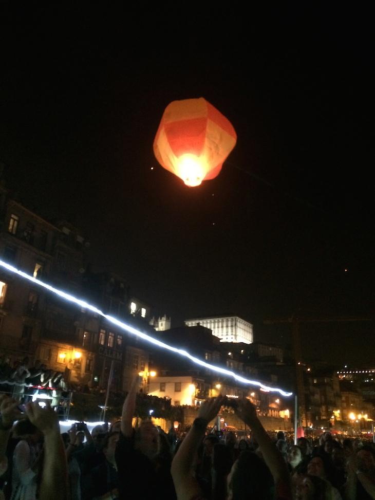 Lançar balão de São João
