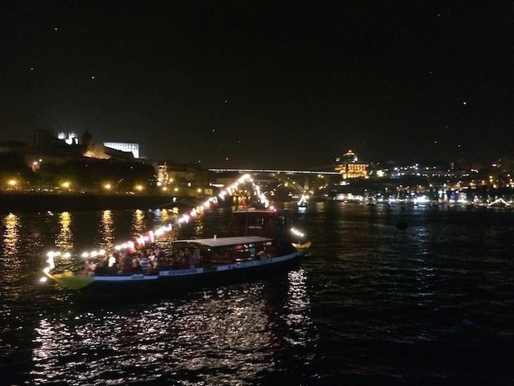 São João (de barco) - Porto © Viaje Comigo