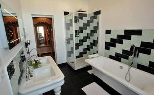 Casa de banho da Suite Winston Churchill
