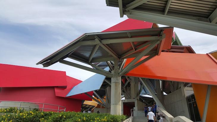 Arquitetura do Museu da Biodiversidade do Panamá ©Viaje Comigo