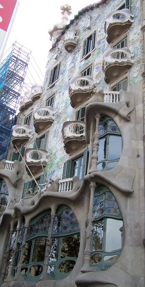 Casa Batlló, Barcelona © Viaje Comigo