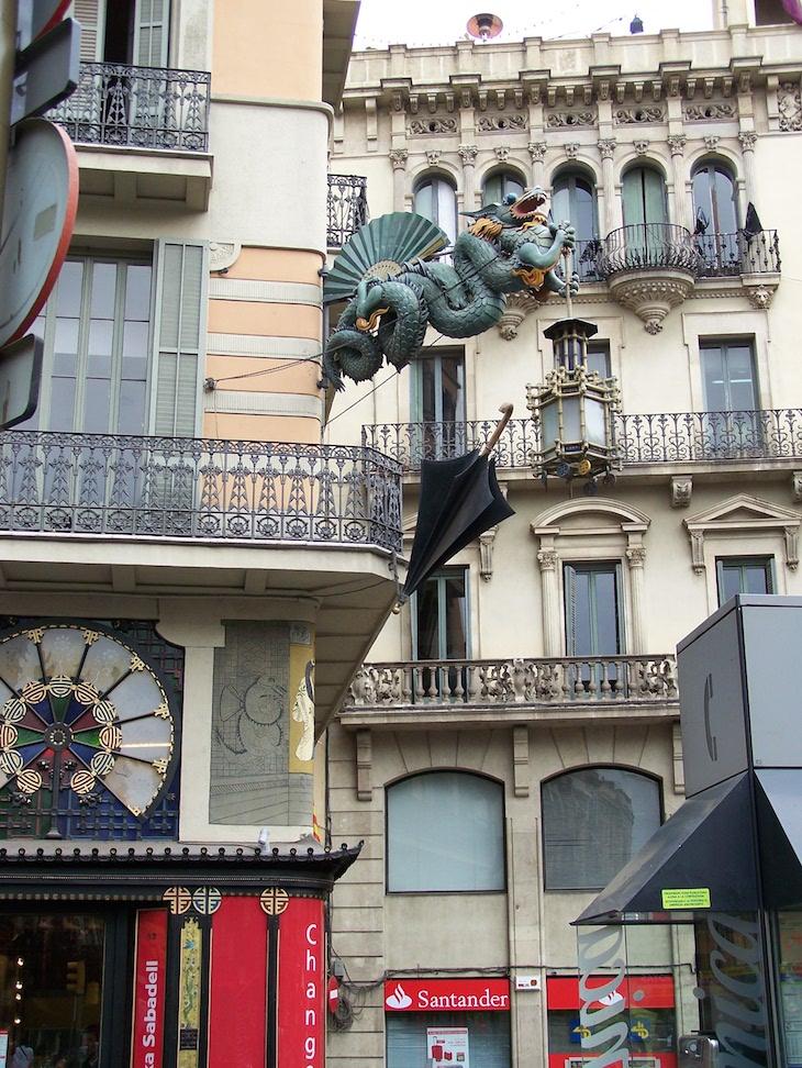 La Rambla, Barcelona © Viaje Comigo