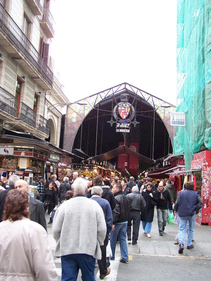 Mercado S. Josep, Barcelona © Viaje Comigo