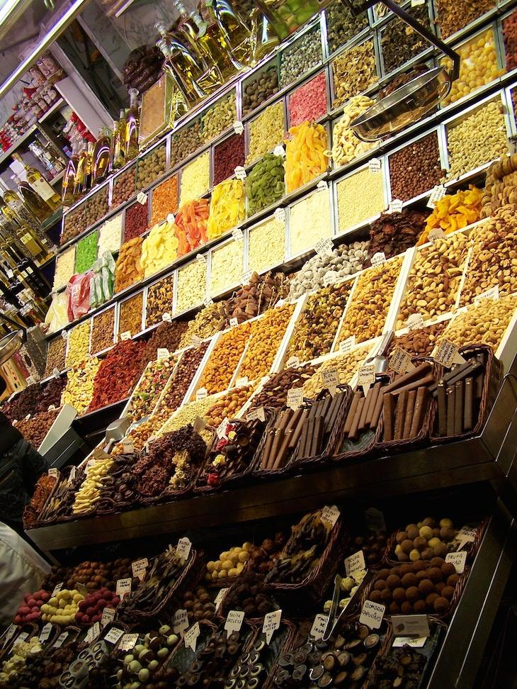 Mercado de S. Josep, Barcelona © Viaje Comigo