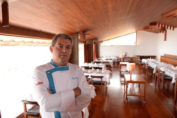 Chef Rui paula na Casa de Chá da Boa Nova