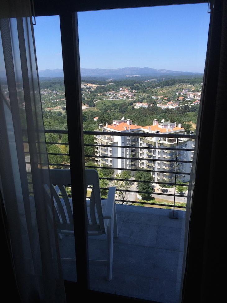 Vista do quarto do Montebelo Viseu Hotel & Spa