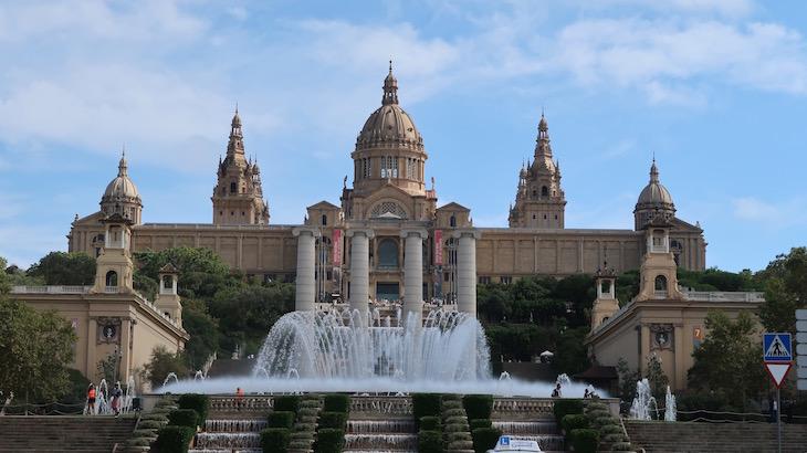 Museu Nacional d'Art de Catalunya - MNAC - Montjuic © Viaje Comigo