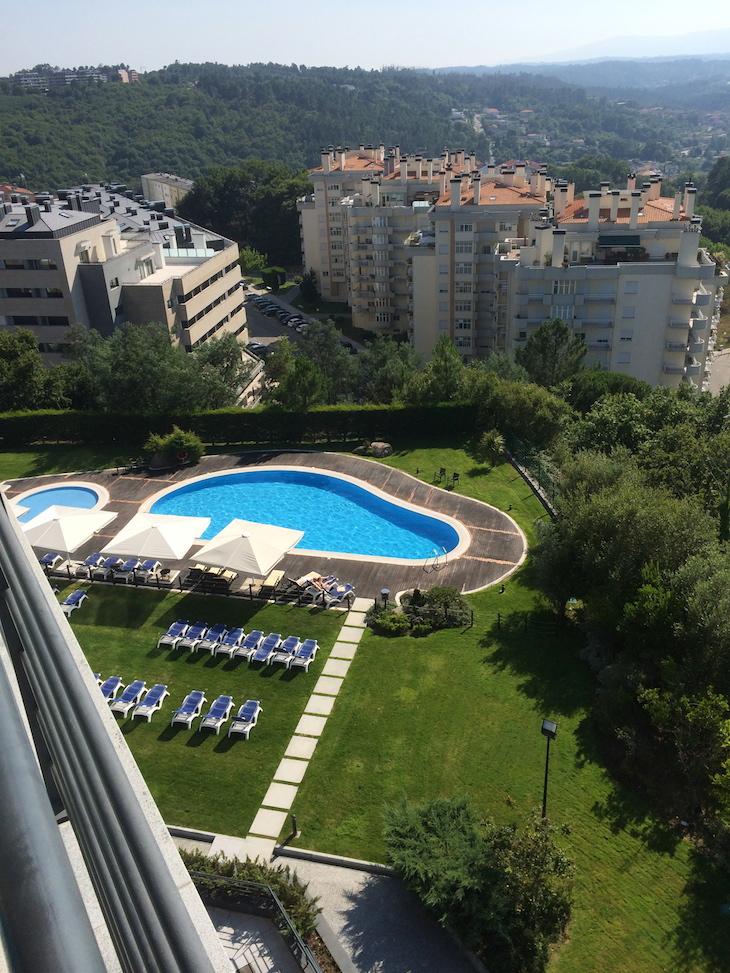 Piscina no Montebelo Viseu Hotel & Spa