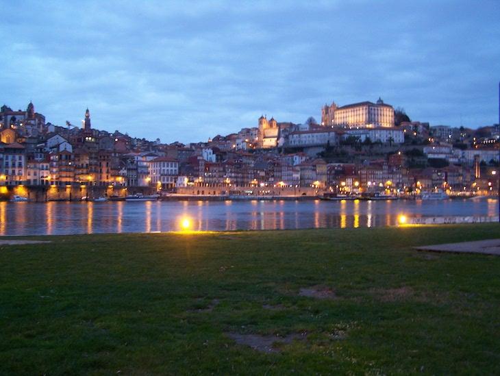 Porto à noite (vista de Gaia)