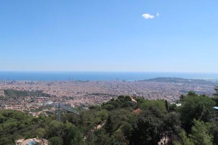 Vista sobre Barcelona - Tibidabo © Viaje Comigo