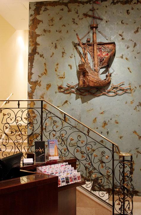 Receção do Carvi New York Hotel