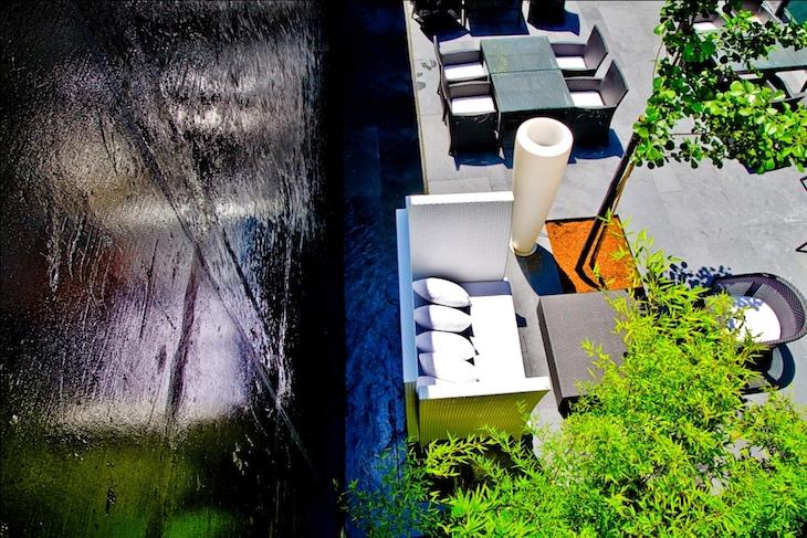 Jardim exterior do DoubleTree by Hilton Lisbon Fontana Park