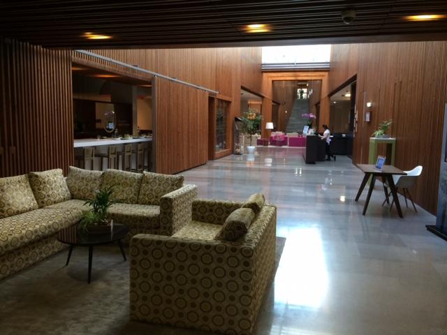 Entrada do Inspira Santa Marta Hotel