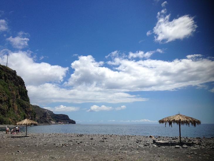 Praia na Madeira