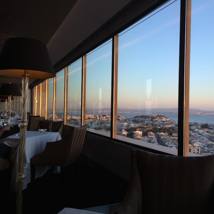 Restaurante Panorama, hotel Sheraton Lisboa © Viaje Comigo