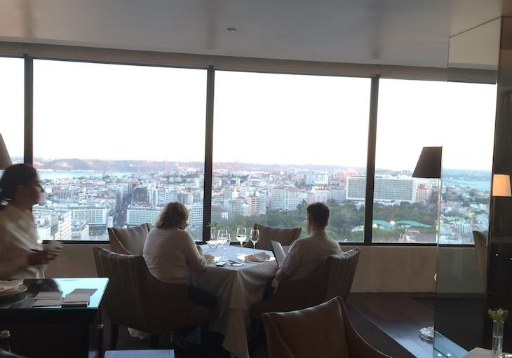 Restaurante Panorama do Hotel Sheraton Lisboa
